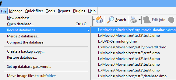 Use Several Movie Databases